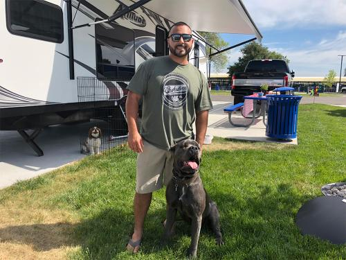 Riverside RV Park Pets
